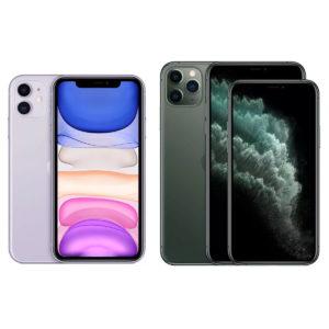 iPhone 11, Pro и Pro Max