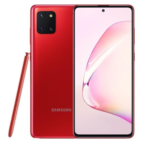 Samsung Galaxy Note 10 lite красный