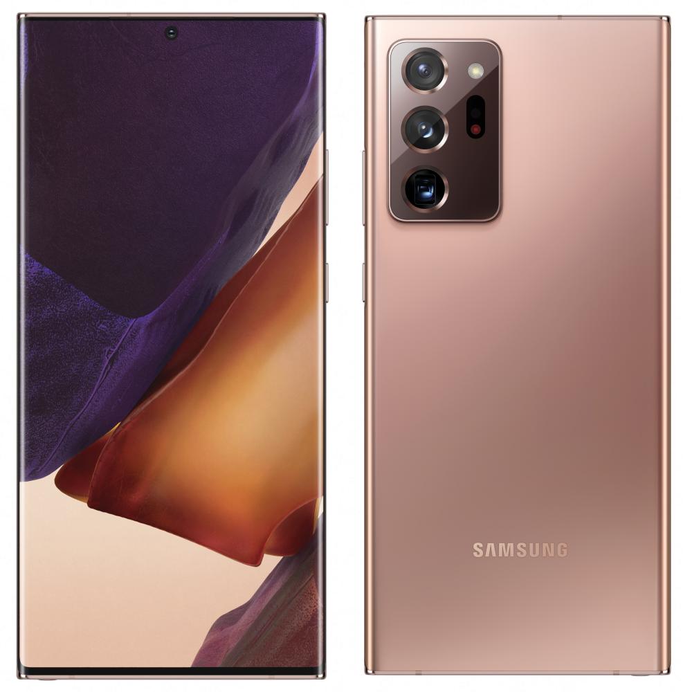 Samsung Galaxy Note 20 Ultra бронза