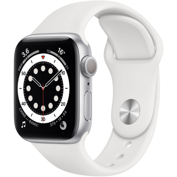 Apple Watch S6 белые