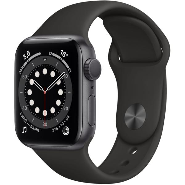 Apple Watch S6 черные