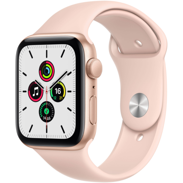 Apple Watch SE розовые