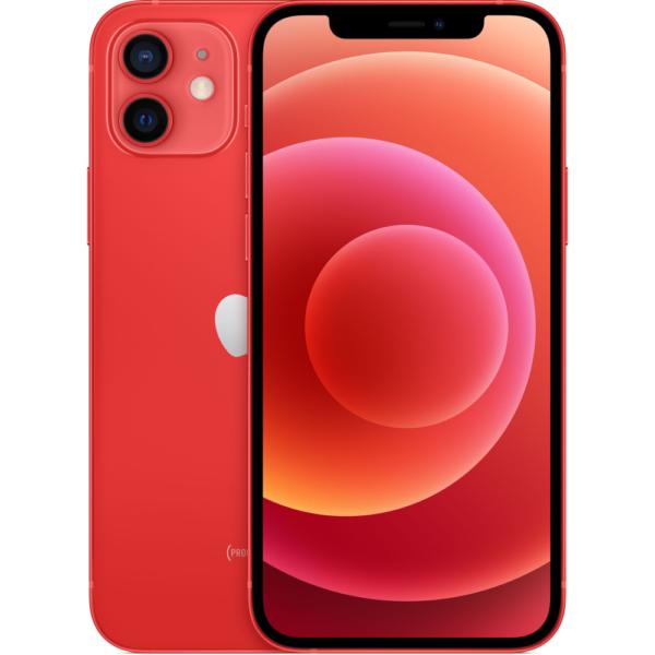 iPhone 12 красный