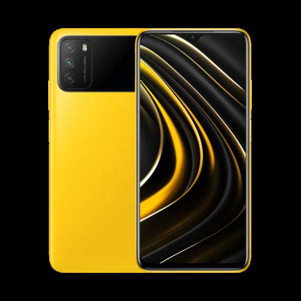 Poco M3 желтый