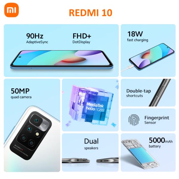 Redmi 10 характеристики