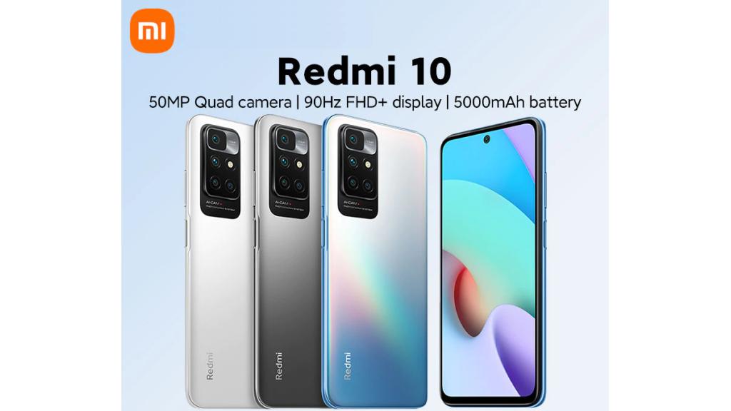 Xiaomi Redmi 10 реклама